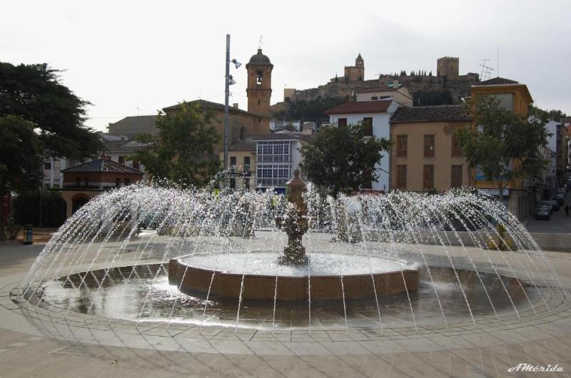 Fuente del Parque de los Álamos