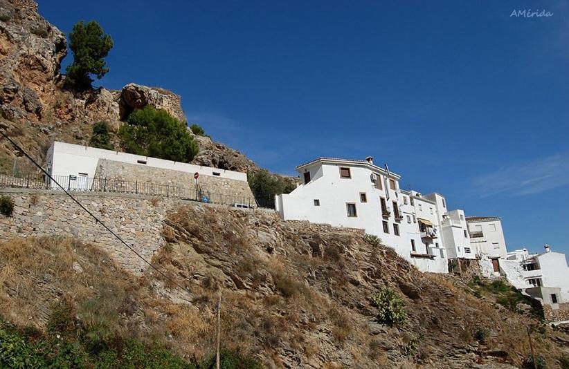 Castillo de Casarabonela, castillo de Qasr Bunayra o Fortaleza del Rey Chico, città di Malaga, villaggi di Andalusia