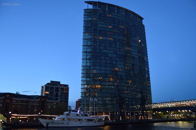 London Marriott Hotel en West India Quay